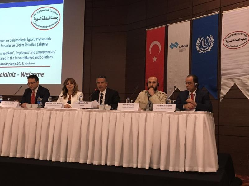 Syrian workers, employers and the labor problems faced by the workshop of entrepreneurs market